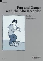 Fun And Games With The Alto Recorder Teacher's Commentary Sheet Music