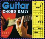 Guitar Chord 2012 Daily Boxed Calendar Sheet Music