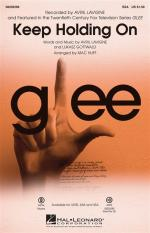 Avril Lavigne: Keep Holding On (Glee) - SSA Sheet Music