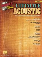 Easy Guitar Play-Along Volume 5: Ultimate Acoustic Sheet Music