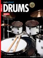 Rockschool Drums - Grade 5 (2012-2018) Sheet Music