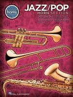 Jazz/Pop Horn Section Sheet Music