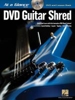 At a Glance - Guitar Shred Sheet Music