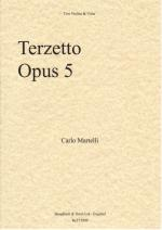 Carlo Martelli: Terzetto For Two Violins And Viola Op.5 Sheet Music