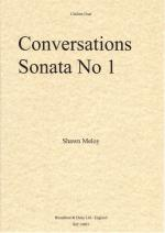 Shawn Meloy: Conversations, Sonata No.1 (Clarinet Duet) Sheet Music