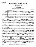 Collected String Trios: Volume 2 for Violin, Viola and Cello (with optional Violin 2 for Viola) Sheet Music