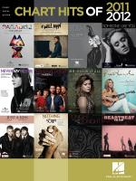 Chart Hits Of 2011-2012 Sheet Music