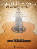 Sacred Songs For Classical Guitar Standard Notation & Tab Sheet Music