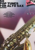 Hal Leonard 50 Graded Pop Alto Sax Sheet Music