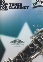 Hal Leonard 50 Graded Pop Clarinet Solos Sheet Music