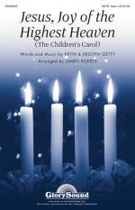 Jesus, Joy Of The Highest Heaven (The Children's Carol) Sheet Music Sheet Music
