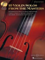10 Violin Solos From The Masters Sheet Music