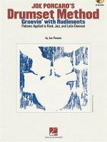 Joe Porcaro's Drumset Method - Groovin' With Rudiments Sheet Music