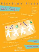 PlayTime Piano: Kids' Songs Sheet Music