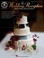 The Wedding Reception Songbook Sheet Music