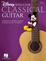 Disney Songs - Classical Guitar Sheet Music