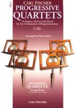 Carl Fischer Progressive Quartets -cello Sheet Music