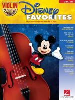 Violin Play-Along Volume 29: Disney Favorites Sheet Music