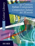 20th Century Italian Composers (Guitar) Sheet Music