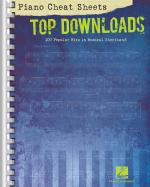 Piano Cheat Sheets: Top Downloads 100 Popular Hits In Musical Shorthand Sheet Music