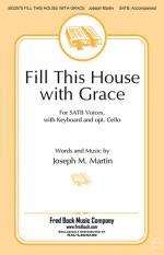 Fill This House With Grace Sheet Music Sheet Music