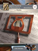 Repertoire Classics - Violin Sheet Music