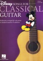 Hal Leonard Disney Songs-classical Guitar Sheet Music