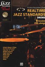 Alfred Music Publishing Realtime Jazz Standards Drums Sheet Music
