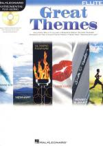 Hal Leonard Flute Play-along: Great Themes Sheet Music