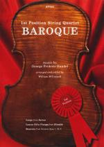 1st Position String Quartet - Baroque Sheet Music