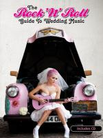 The Rock 'N' Roll Guide To Wedding Music Sheet Music