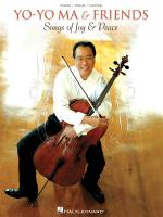 Yo-Yo Ma & Friends: Songs Of Joy & Peace Sheet Music