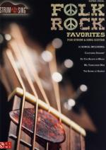 Hal Leonard Folk Rock Favourites: Strum Sheet Music