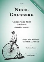 Nigel Goldberg: Concertino No.2 In D Minor Sheet Music