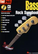 Hal Leonard Fasttrack Bass Rock Songbook Sheet Music