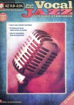 Hal Leonard Jazz Play-along Vocal Jazz H. Sheet Music