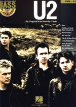 Hal Leonard Bass Play Along U2 Vol.41 Sheet Music