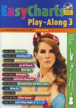 Schott Easy Charts 3 Play-along Sheet Music