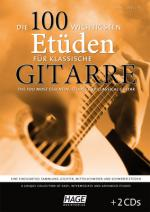 Hage Musikverlag 100 Etudes Classical Guitar Sheet Music