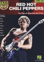 Hal Leonard Bass Play Along Red Hot Chili Sheet Music
