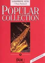 Edition Dux Popular Collection 7 (a-sax+p) Sheet Music