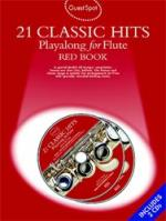 Music Sales 21 Classic Hits Red Book (fl) Sheet Music
