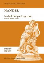 G.F. Handel: In The Lord Put I My Trust HWV 247 (Vocal Score) Sheet Music