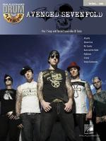 Drum Play-Along Volume 28: Avenged Sevenfold Sheet Music