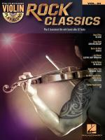 Violin Play-Along Volume 24: Rock Classics Sheet Music