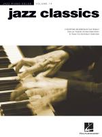 Jazz Piano Solos Volume 14: Jazz Classics Sheet Music