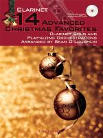 14 Advanced Christmas Favourites - Clarinet Sheet Music