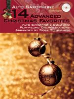 14 Advanced Christmas Favourites - Alto Saxophone Sheet Music