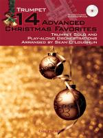 14 Advanced Christmas Favourites - Trumpet Sheet Music