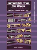 Larry Clark: Compatible Trios For Winds - Alto Saxophone / Baritone Saxophone Sheet Music